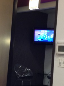 TV in Lobby usually has CNN on during the weekdays.