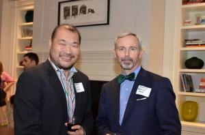 At the 2014 Luxury Agent Party in Chicago with fellow managing broker and friend Patrick Lynch.